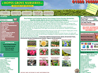 Hopes Grove Nurseries Ltd
