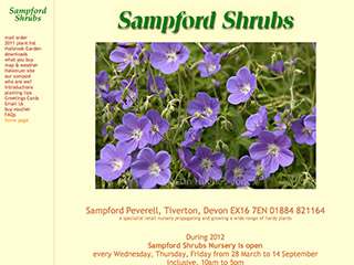 Sampford Shrubs