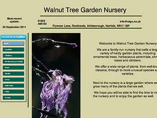 Walnut Tree Garden Nursery