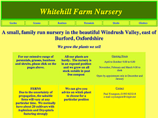 Whitehill Farm Nursery