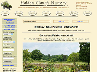 Holden Clough Nursery Ltd