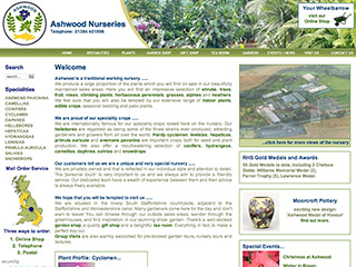 Ashwood Nurseries Ltd