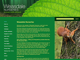 Weasdale Nurseries Ltd