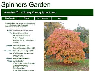 Spinners Garden
